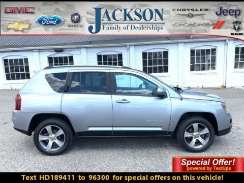 Pre-Owned 2017 Jeep Compass Latitude FWD *Ltd Avail*