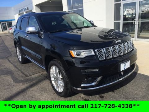 Pre-Owned 2017 Jeep Grand Cherokee Summit With Navigation & 4WD