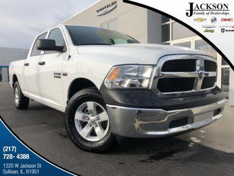 New 2018 Ram 1500 Tradesman 4x2 Crew Cab 6'4 Box