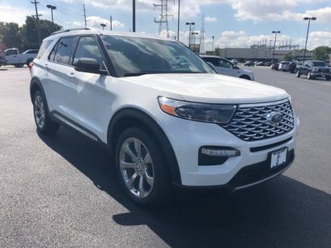 New 2020 Ford Explorer Platinum 4WD