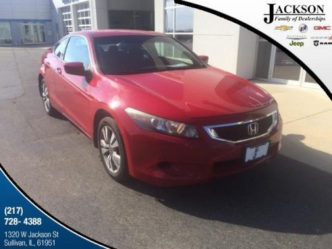 Pre-Owned 2008 Honda Accord 2dr I4 Auto LX-S