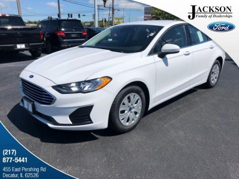 New 2019 Ford Fusion S FWD